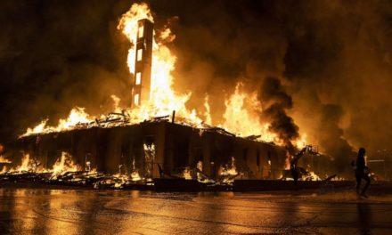 เช้ามืดวันนี้ที่เมืองมินนิอาโปลิสมีผู้เสียชีวิตในจลาจลครั้งนี้