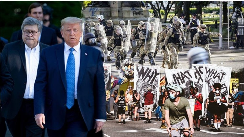 """ทหารอเมริกันอัด """"ทรัมป์"""" เล็งปราบม็อบต้านเหยียดผิว ให้กองทัพยุ่งการเมือง!"""