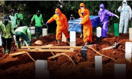 อินโดฯวิกฤตติดโควิดวันเดียว 1,385 ราย ตาย 2.7 พันศพ มากสุดในอาเซียน