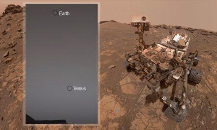 (คลิป) ภาพถ่ายของโลก Earth และดาวศุกร์ Venus ถ่ายจากดาวอังคาร