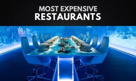 10 ร้านอาหารที่แพงที่สุดในโลก