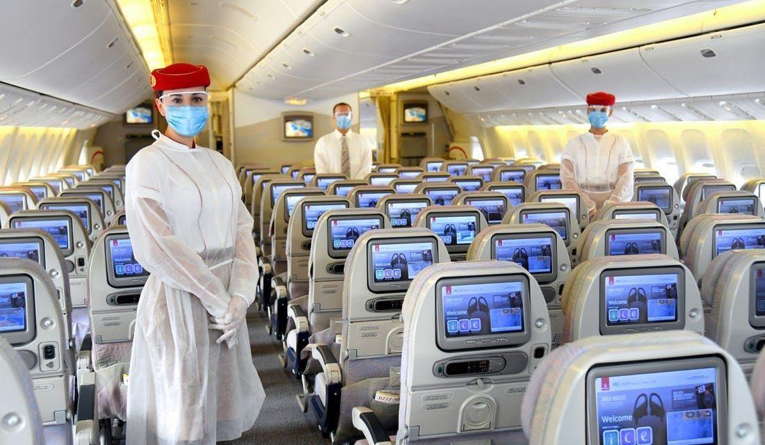 """หวังฟื้นธุรกิจการบินซบเซา เอมิเรตส์จัดฟรี """"ประกันโควิด-19"""" ให้ผู้โดยสารทุกคน"""