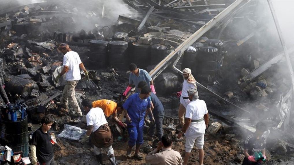 หมดโปรฯโควิด ซาอุฯหวนถล่มกบฏเยเมนยับ ทิ้งบอมบ์พร้อมกันทั่วปท.