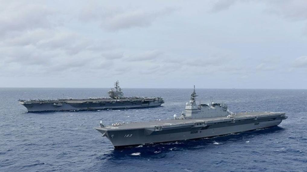 กองเรือสหรัฐ ส่งเรือบรรทุกเครื่องบิน ฝ่าทะเลจีนใต้และฟิลิปปินส์