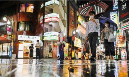 โตเกียวผงะ! ติดเชื้อรายวันเกิน 100 คนต่อเนื่อง 18 วัน สุดช้ำฝนถล่มซ้ำ