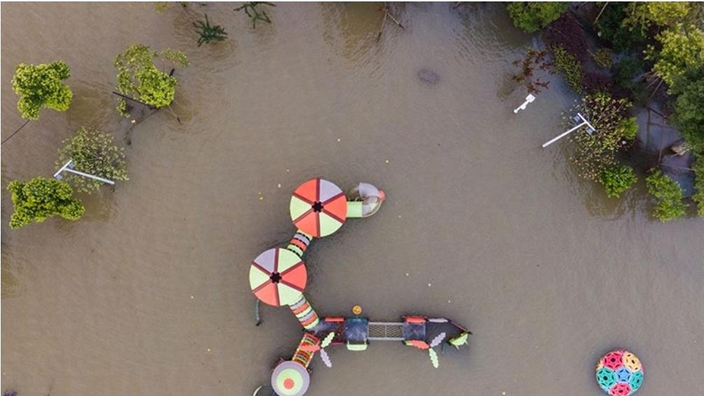 จีนชีช้ำน้ำท่วม กระทบถึง54ล้านคน เศรษฐกิจสูญอีก6แสนล้านบาท