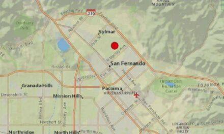 เช้าวันนี้เกิดแผ่นดินไหว 4.2 แถว Pacoima เวลา 4.29 AM ห่างจากแอลเอประมาณ 10 ไมล์