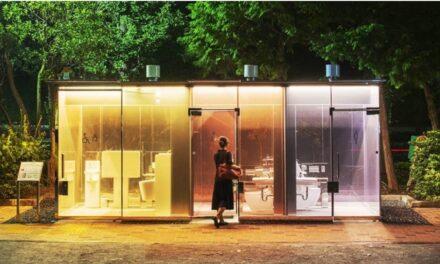 ห้องน้ำโปร่งใส จุดขายใหม่กรุงโตเกียวมองทะลุเห็นหมดแต่ไม่โป๊