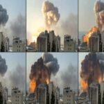 ความเสียหายจากเหตุระเบิดในเลบานอน
