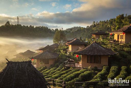 หมู่บ้านกลางสายหมอกและขุนเขา น่าไปเที่ยวแบบเนิบช้า