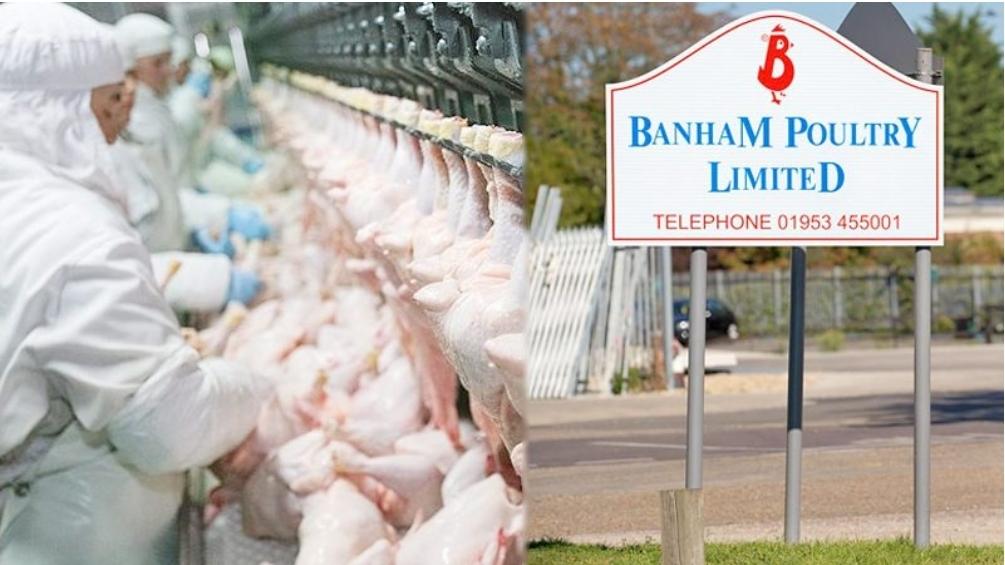 """คลัสเตอร์ """"โรงงานไก่"""" แดนผู้ดี ติดเชื้ออีกพุ่ง 100 คน สั่งแยกกักตัว 350 คน"""