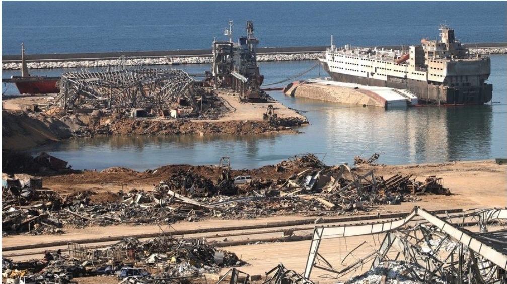 เช็กบิลคดีโคตรระเบิดท่าเรือเบรุต ย่อยยับแสนล้านบาท จับหน.ข่าวกรอง