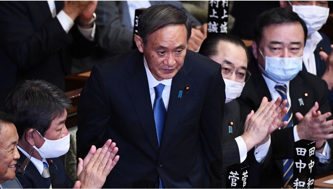 โยชิฮิเดะ ซูกะ นายกฯใหม่ญี่ปุ่น สืบต่อชินโสะ อาเบะ ตั้งรบ.ใหม่ทันที