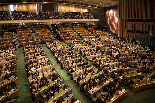 ประธานาธิบดี โดนัลด์ ทรัมป์ แห่งสหรัฐฯ เปิดการประชุมสมัชชาใหญ่สหประชาชาติ หรือ UNGA ครั้งที่ 75 ผ่านระบบวิดีโอคอนเฟอร์เรนซ์ ด้วยสุนทรพจน์ที่วิพากษ์วิจารณ์รัฐบาลปักกิ่ง