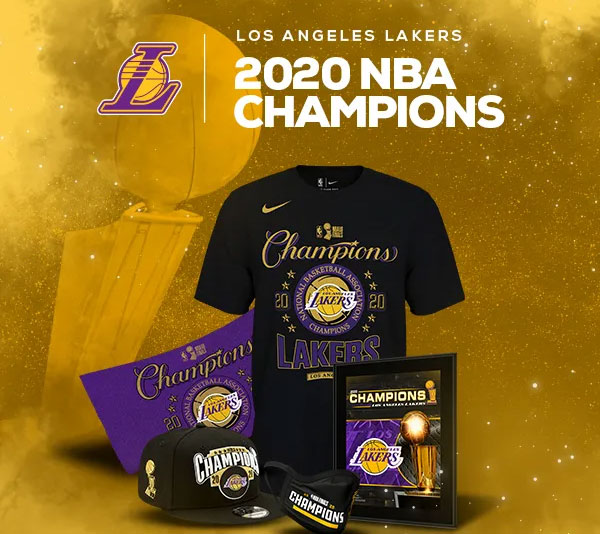 2020 NBA World Champion Los Angeles Lakers