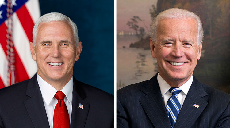 Vice President Mike Pence and Joe Biden  ผลตรวจโควิด19 ลบทั้งสองท่าน
