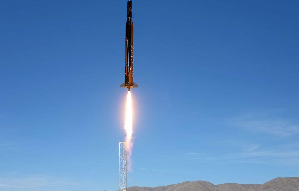 SpaceX ของ Elon Musk และกองทัพสหรัฐฯวางแผนที่จะสร้างจรวด 7,500 ไมล์ต่อชั่วโมงซึ่งสามารถส่งอาวุธ 80 ตันไปยังทุกที่ในโลกได้ภายใน 60 นาที