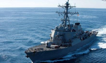 สหรัฐส่งเรือพิฆาตแล่นผ่านช่องแคบไต้หวันอีก
