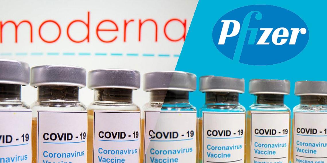 ตลาดหุ้นพุ่ง วัคซีนทดลองของ Moderna Inc มีประสิทธิภาพ 94.5% ในการป้องกัน COVID-19 และวัคซีนของ Pfizer Inc ซึ่งได้ผลมากกว่า 90%
