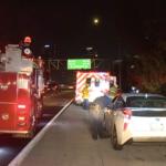 การยิงบนฟรีเวย 110 ใส่รถ Uber และรถส่วนตัวสีแดงโดยรถโดยสารที่ขับผ่านในตัวเมืองลอสแองเจลิสทำให้มีผู้ได้รับบาดเจ็บ 1 คน