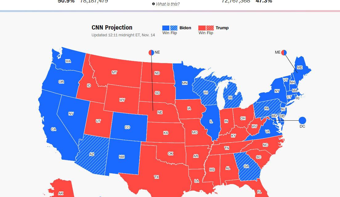 วันที่รัฐต้องทำการรับรองผลลัพธ์เลือกตั้งประธานาธิบดีสหรัฐ