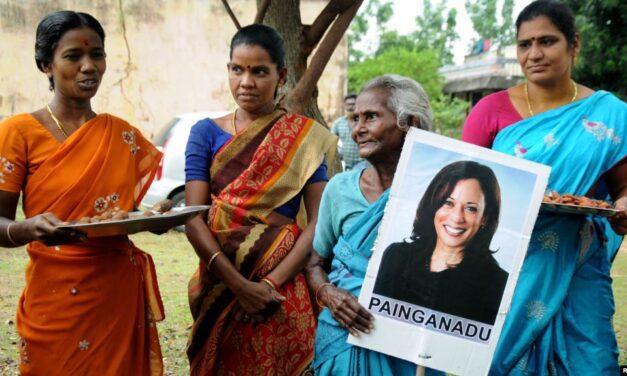 ชาวอินเดียร่วมยินดี 'คามาลา แฮร์ริส' ว่าที่รองปธน.หญิงคนแรกของสหรัฐฯ