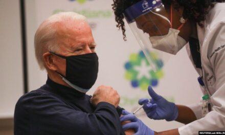 'ไบเดน' รับวัคซีนต้านโควิด ย้ำให้ชาวอเมริกันรับวัคซีน