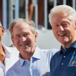 สามอดีตประธานาธิบดีจอร์จดับเบิลยูบุช บิลคลินตัน และบารัคโอบามา อาสาที่จะฉีดวัคซีนโควิด-19 ถ่ายทอดทีวี