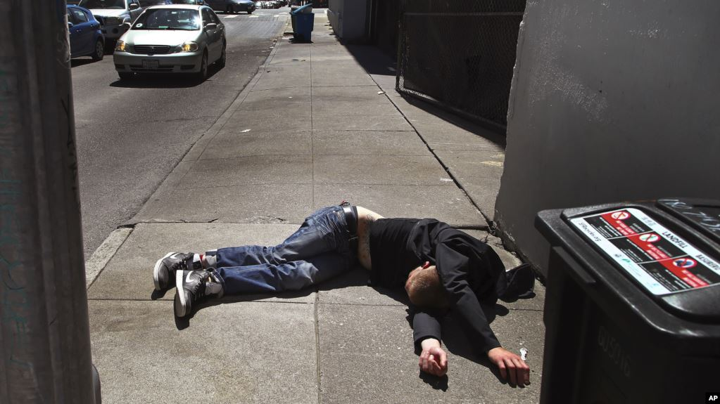 'นครซานฟรานฯ' มีผู้เสียชีวิตจากยาเสพติดมากกว่าโควิด-19