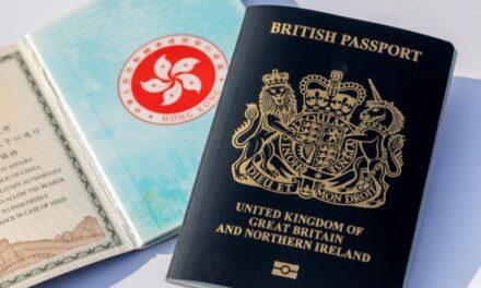 ชาวฮ่องกงที่ถือหนังสือเดินทางสัญชาติอังกฤษในต่างประเทศ (BNO) สามารถอาศัยเรียนและทำงานในสหราชอาณาจักรได้