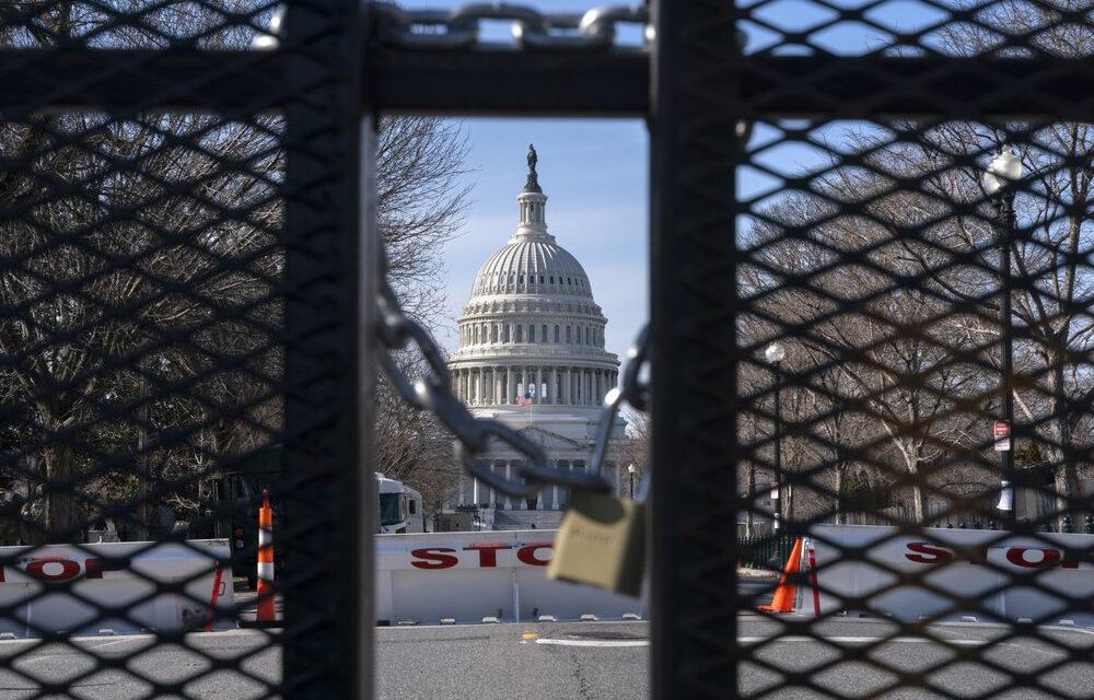 อาคารรัฐเมืองหลวงสหรัฐรั้งสัปดาห์ที่อาจเกิดความรุนแรง