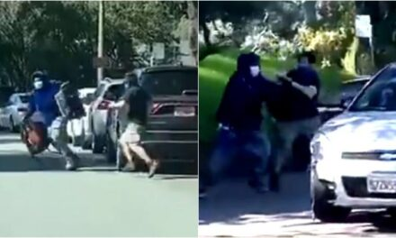 อาชญกรรมกลางวันแสก ๆ กลางถนนที่ซานฟรานซิสโก ทุบกระจกรถฉกกระเป๋าขับหนี คลิป