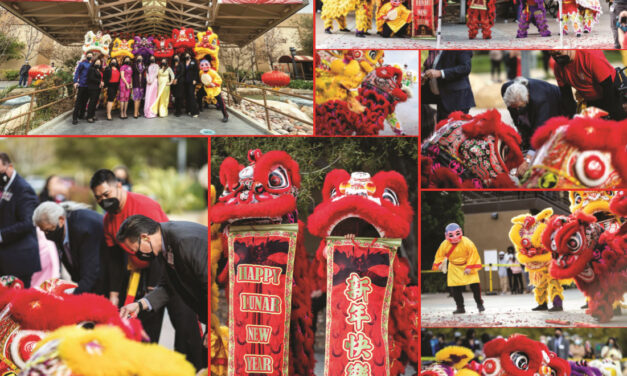 Chinese Lunar New Year 2021 Lion Dance