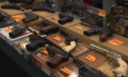 บันทึกการตรวจสอบประวัติอาวุธปืนในอเมริกา 4.3 ล้านครั้ง ในเดือนมกราคม 2021 ส่งสัญญาณการขายปืนจำนวนมาก