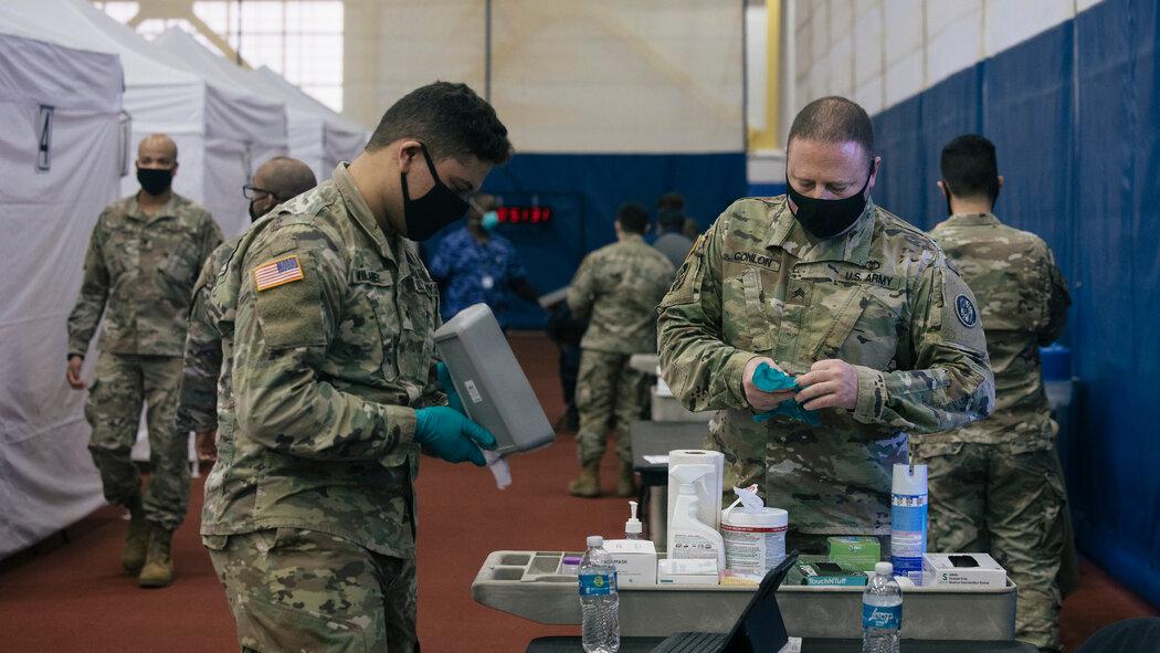 เพนตากอน(กระทรวงกลาโหม)เตรียมกองทัพมาช่วยจัดส่งวัคซีน COVID-19เริ่มที่แคลิฟอร์เนีย