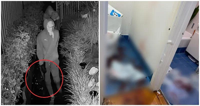 ครอบครัวไทยถูกทำร้ายด้วย Machete (มีดแมเชเท) ระหว่างการบุกบ้านในออสเตรเลีย