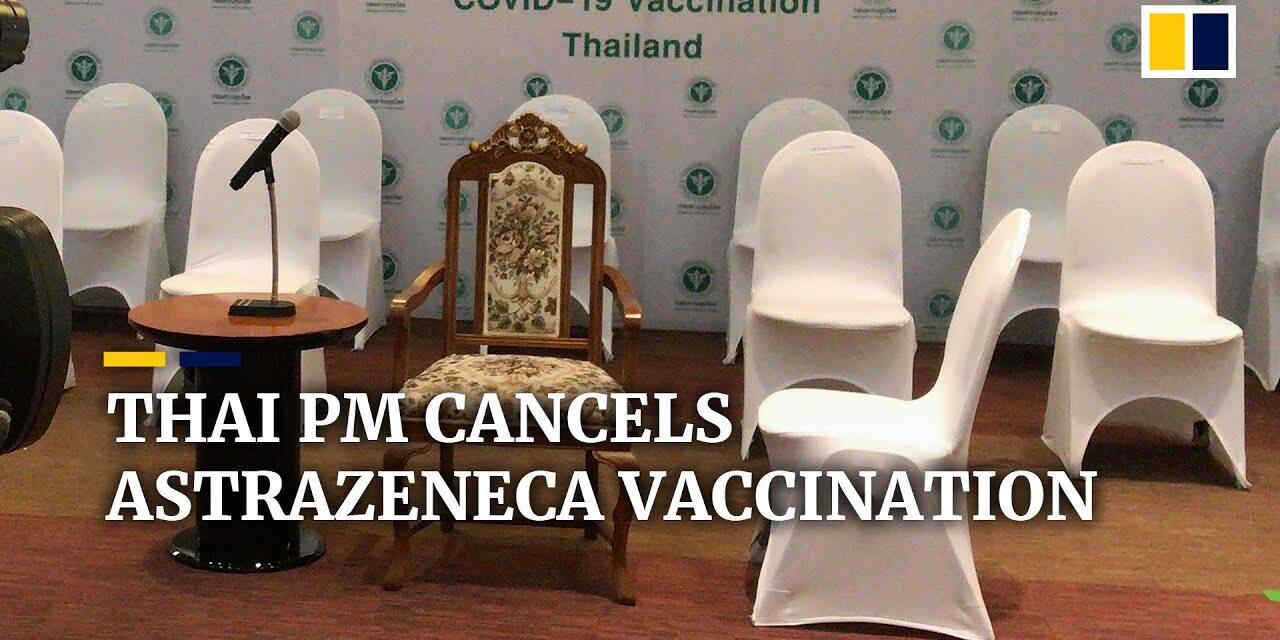 ประเทศไทยจะเริ่มใช้วัคซีน AstraZeneca COVID-19 ในวันอังคารนี้ นายกรัฐมนตรีประยุทธจันทร์โอชาจะเป็นคนแรกในการเข้าฉีดวัคซีน แต่ก็ไม่มา