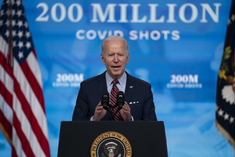ประธานาธิบดีโจไบเดนกล่าวว่าสหรัฐฯจะเริ่มแบ่งปันสต็อกวัคซีน AstraZeneca COVID-19 ทั้งหมดกับทั่วโลก