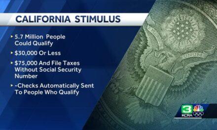 แคลิฟอร์เนียจะให้เงินกระตุ้น Golden State ให้กับครอบครัวและบุคคลที่มีคุณสมบัติ $600 หรือ $1,200
