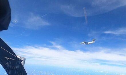 หวิดตึงเครียด! มาเลเซียส่งฝูงบินขับไล่สกัด 'เครื่องบินจีน 16 ลำ' ใกล้เกาะบอร์เนียว