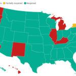 รัฐในสหรัฐที่เปิดแล้วหลังโควิด19 CALIFORNIA REOPEN 6/15/2021