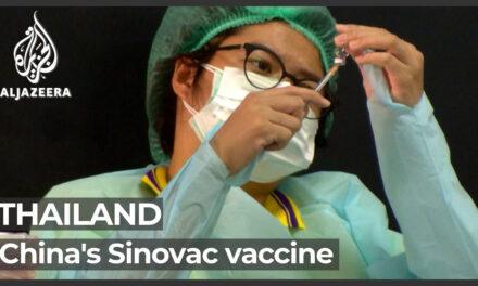 ความเชื่อมั่นสาธารณะชนไทยต่อวัคซีนชิโนวัคของจีนลดถอยลงอย่างมากมาย