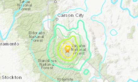 แผ่นดินไหวขนาดใหญ่ 5.9 เขย่าพรมแดนแคลิฟอร์เนีย-เนวาดา ใหญ่สุดในภูมิภาค 'ในรอบเกือบสองทศวรรษครึ่ง'