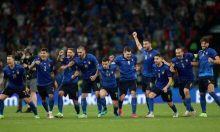 อิตาลีดวลโทษชนะอังกฤษคว้าแชมป์ยูโร 2020!