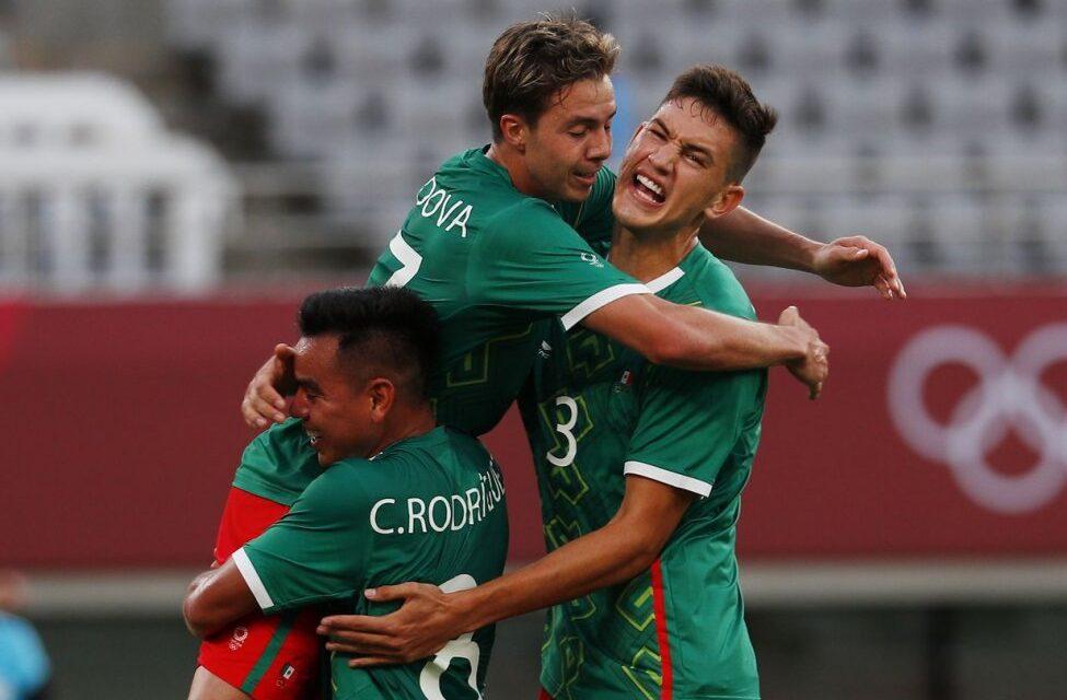 เม็กซิโกทำให้ตัวเองเป็นตัวเก็งสำหรับตำแหน่งแชมป์ฟุตบอลโอลิมปิกครั้งที่สอง