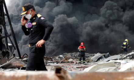 โรงงานพลาสติกในไทยระเบิด: พื้นที่ขนาดใหญ่อพยพออกจากความกลัวเมฆพิษ มีผู้เสียชีวิต 1 รายและบาดเจ็บ 29 ราย