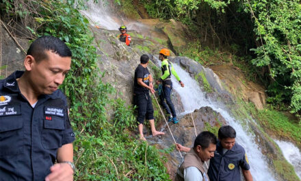 ตำรวจไทยสอบปากคำนักท่องเที่ยวชาวสวิสเสียชีวิตใกล้น้ำตกภูเก็ต