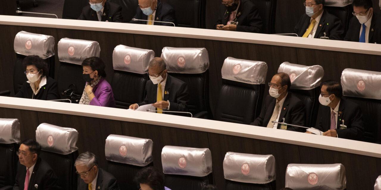 รัฐสภาไทยอนุมัติเปลี่ยนแปลงกฎเกณฑ์ระบบการเลือกตั้ง